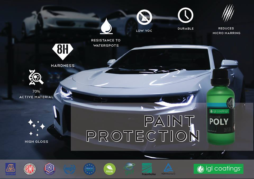 Car Paint Protection >> POLY ONE YEAR CERAMIC PAINT PROTECTION - San Diego Ceramic Car Coating | Certified Car Ceramic ...
